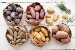 all types of Potatoes